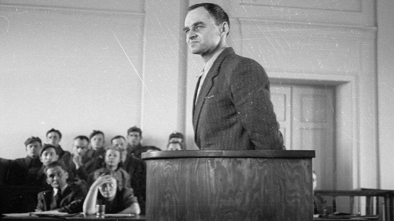 Rotmistrz Witold Pilecki został stracony w więzieniu na warszawskim Mokotowie 25 maja 1948 r. (fot. arch.PAP/CAF)