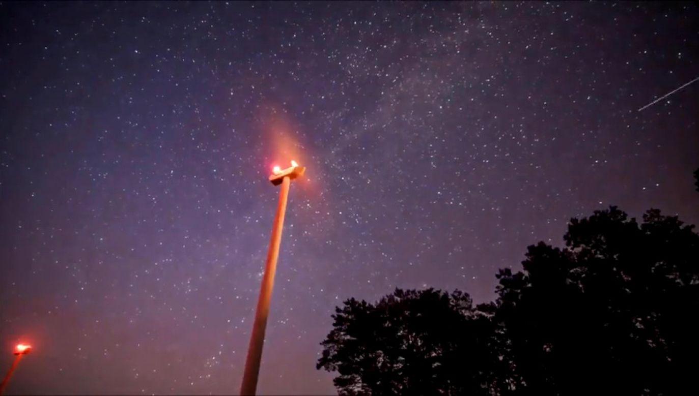 Internauci publikują nagrania spadających gwiazd (fot. ebu/Andreas Lichtenau)
