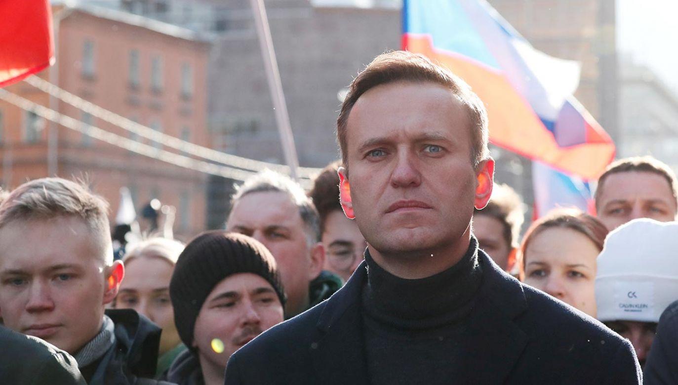 Aleksiej Nawalny nadal przebywa w Berlinie (fot. REUTERS/Shamil Zhumatov)