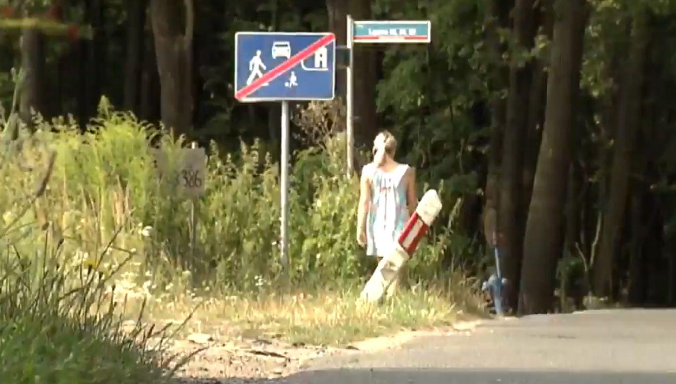 Dziewczynka ledwo uszła z życiem (fot. TT/Alarm_TVP1)