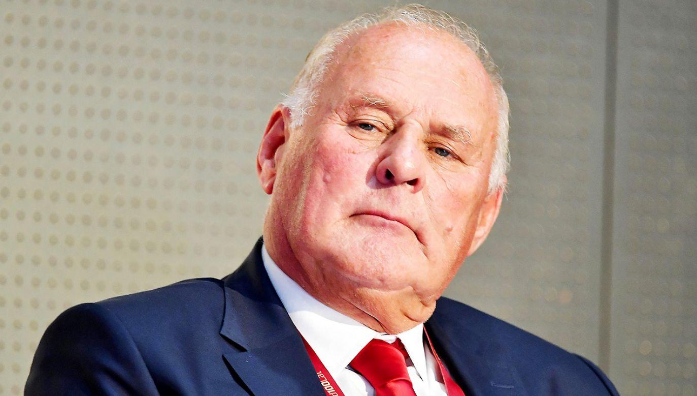 Jan Tomaszewski krytykuje UEFA i angielski rząd (fot. PAP/Piotr Polak)