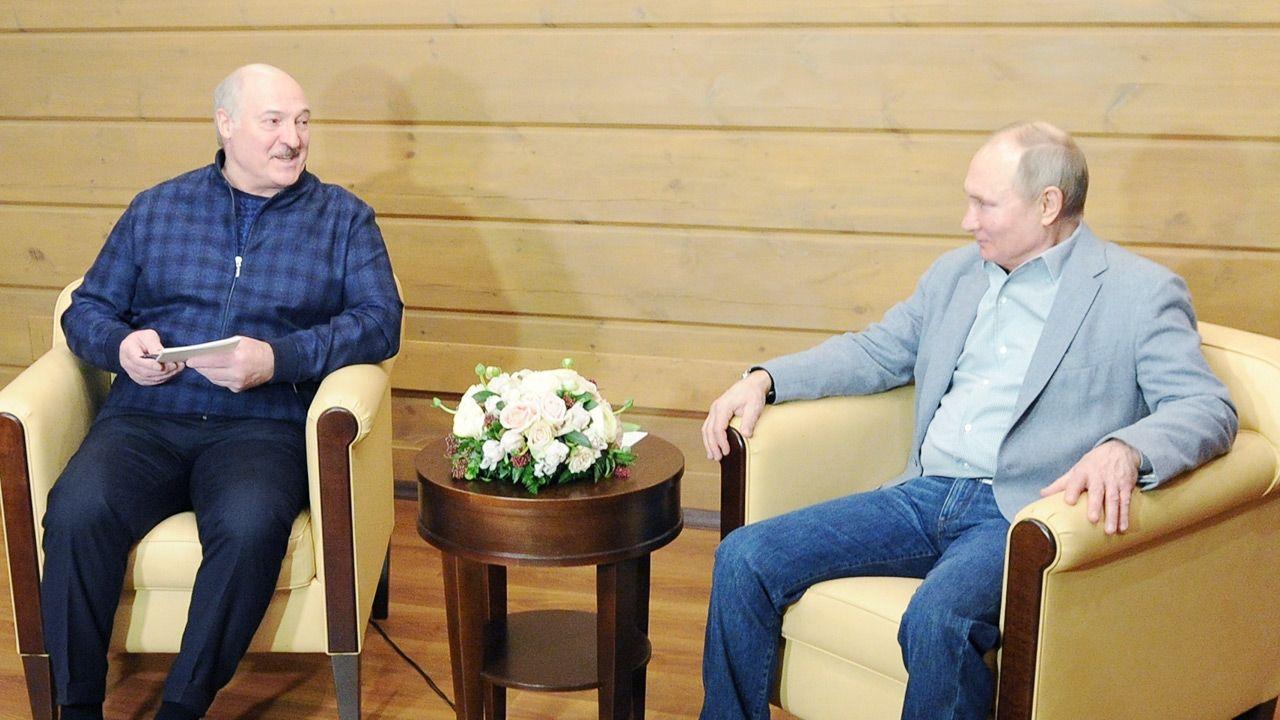 Wraca temat rosyjskiej bazy na Białorusi (fot. Sputnik/Alexei Druzhinin/Kremlin via REUTERS)