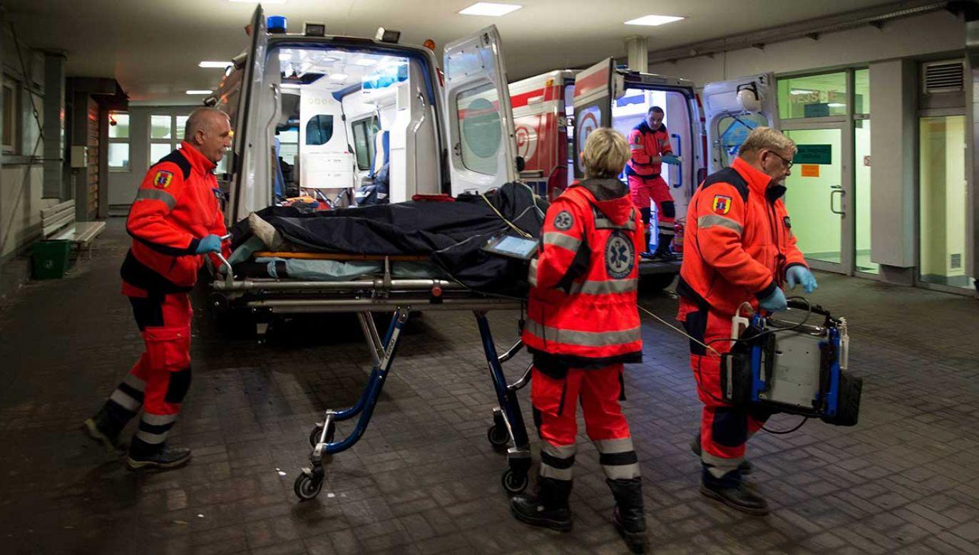 Nietykalność cielesną ratownika miał naruszyć lekarz pełniący dyżur (fot. arch. PAP/Grzegorz Michałowski)