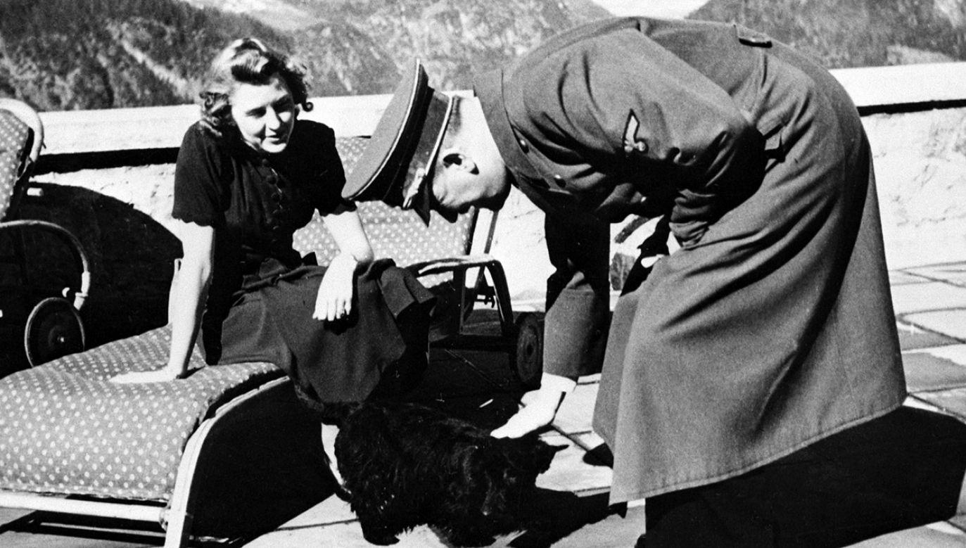 Czy znajdą się chętni na rzeczy Adolfa Hitlera i Ewy Braun? (fot. Bettmann / Contributor/Getty Images)