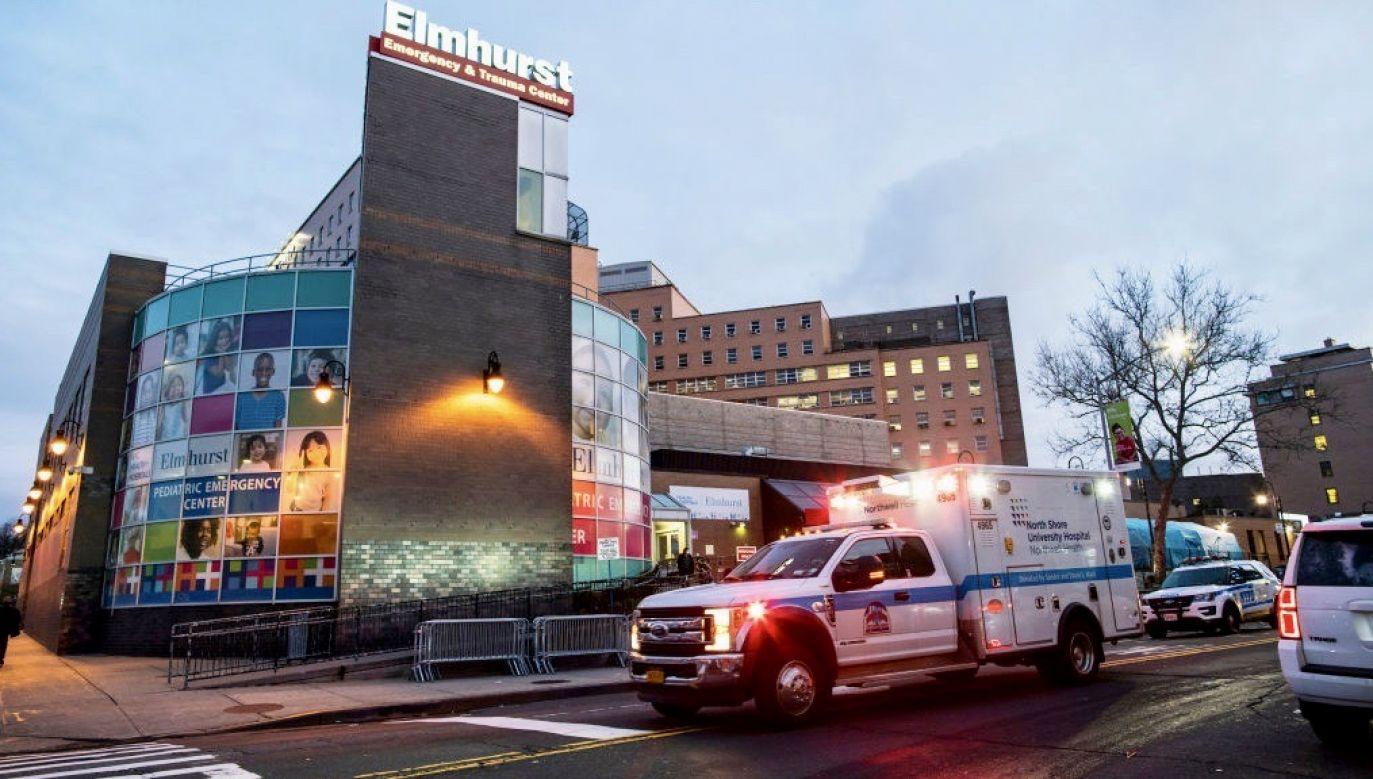W dzielnicy Queens odnotowano aż 34 proc. ofiar koronawirusa w całym Nowym Jorku (fot. Eduardo Munoz Alvarez/Getty Images)