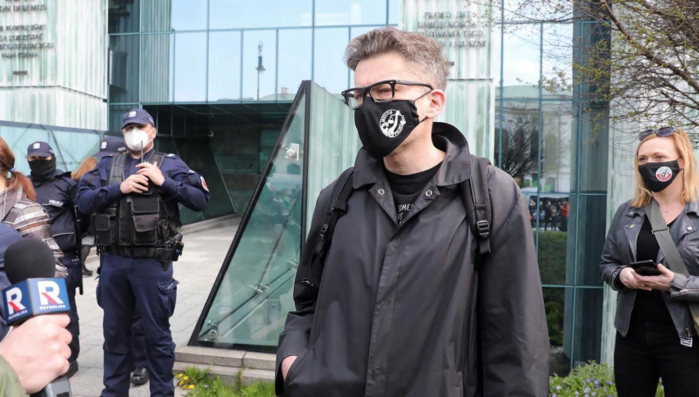 Tuleya nie został przesłuchany (fot. PAP/Tomasz Gzell)