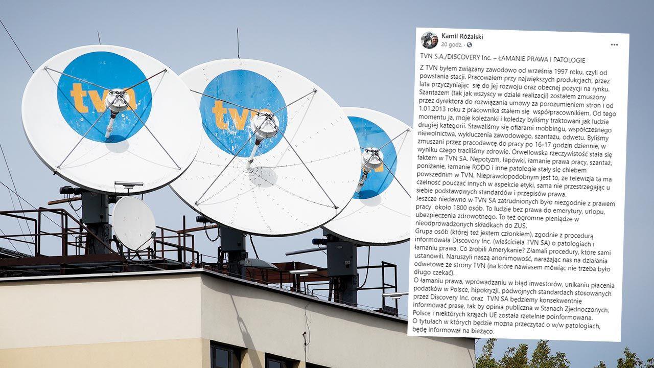 Szokujący wpis byłego operatora TVN (fot. Jaap Arriens/NurPhoto via Getty Images)