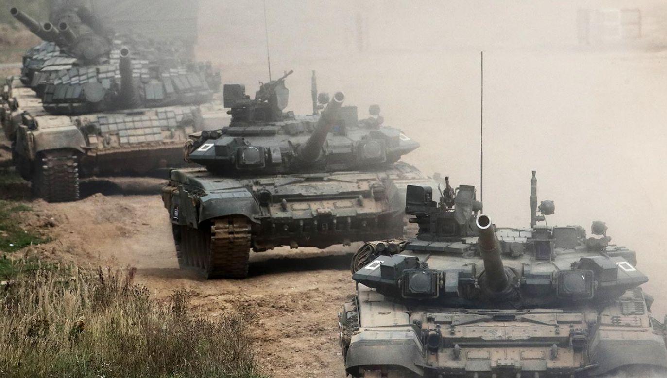 Według Ukrainy dotychczas rozpoczęło się wycofywanie tylko 3,5 tys. rosyjskich żołnierzy (fot. Sergei Fadeichev\TASS via Getty Images, zdjęcie ilustracyjne)