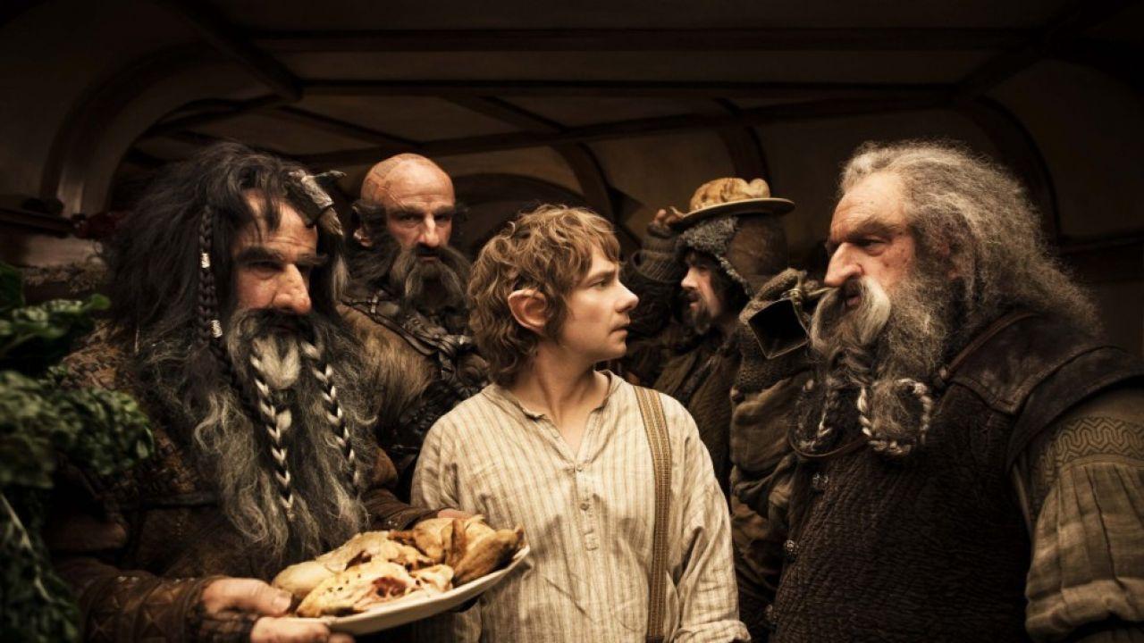 """""""Hobbit.  Niezwykła podróż"""" (fot. Forum Film)"""