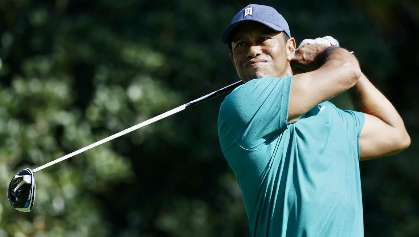 Tiger Woods (fot. PAP/EPA/ERIK S. LESSER)