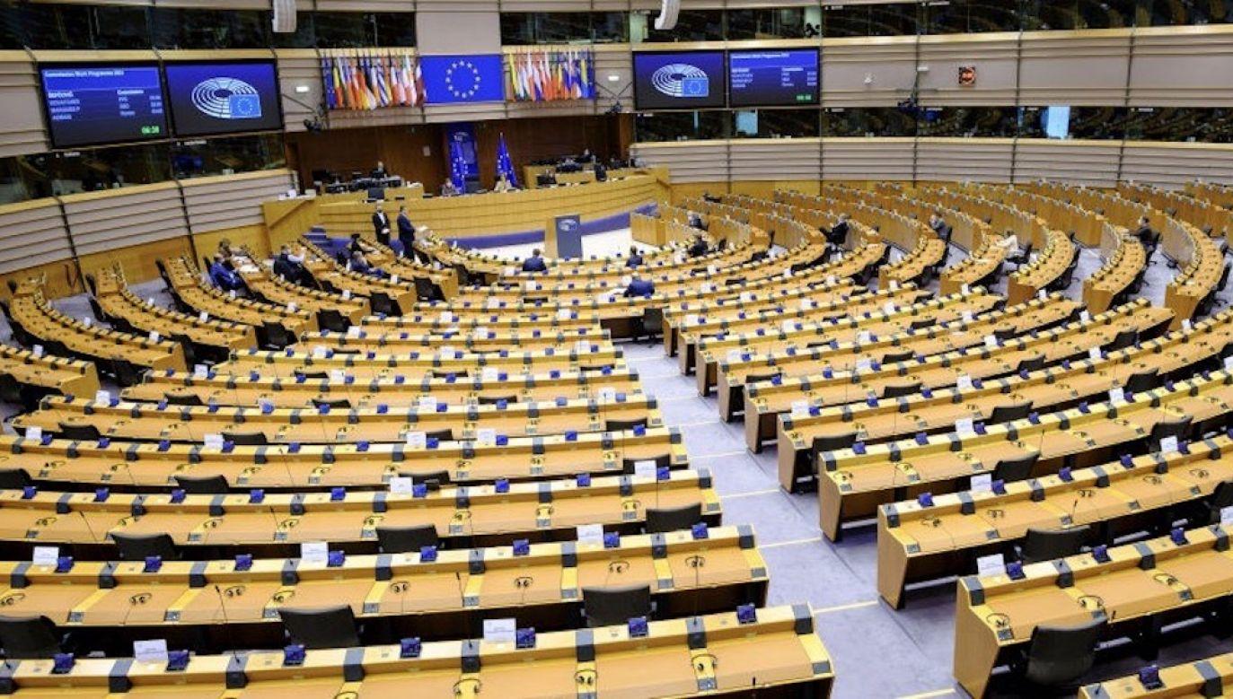 Parlament Europejski może w środę przyjąć rezolucję w sprawie zakazu aborcji w Polsce (fot. Thierry Monasse/Getty Images, zdjęcie ilustracyjne)