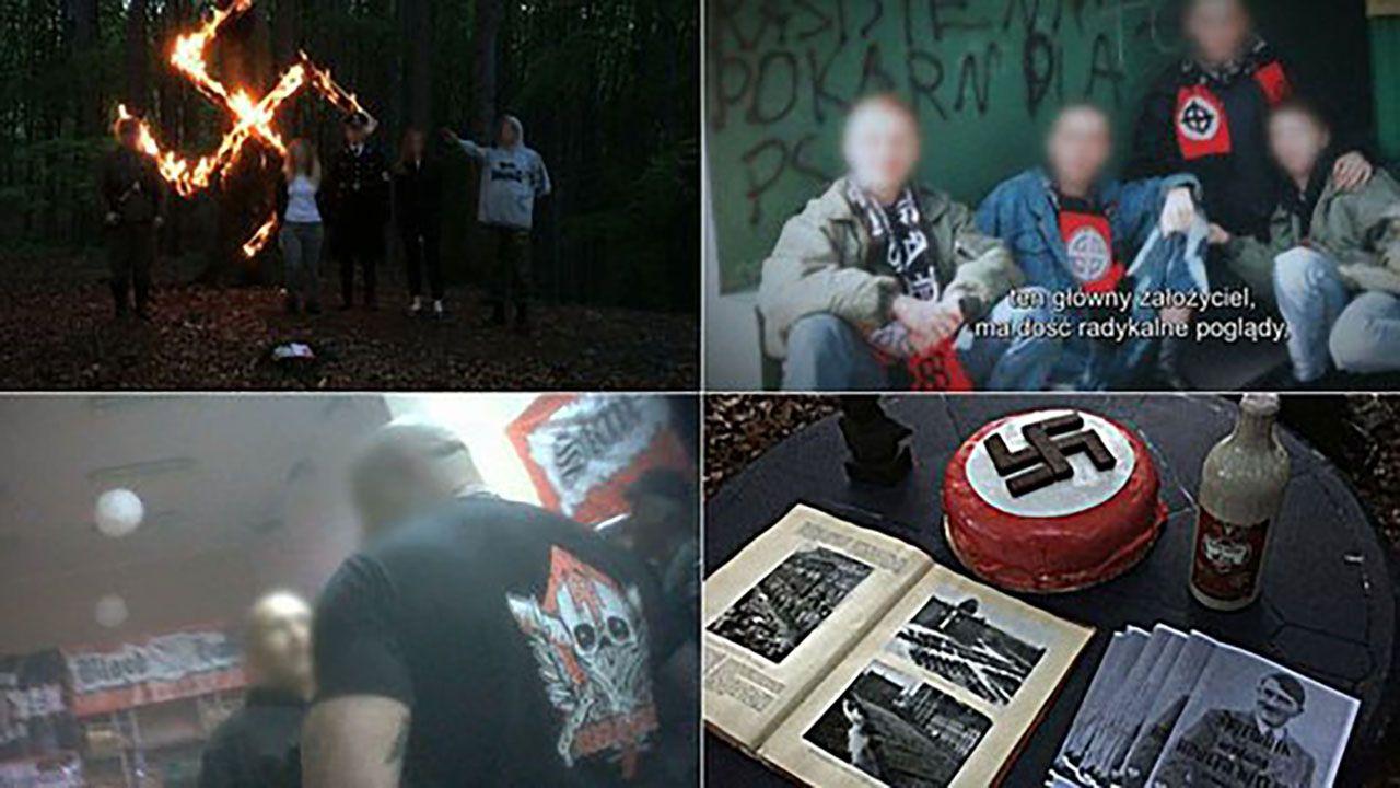 Materiał TVN pokazano dopiero kilka miesięcy po jego nagraniu (fot. tt/TVN24)