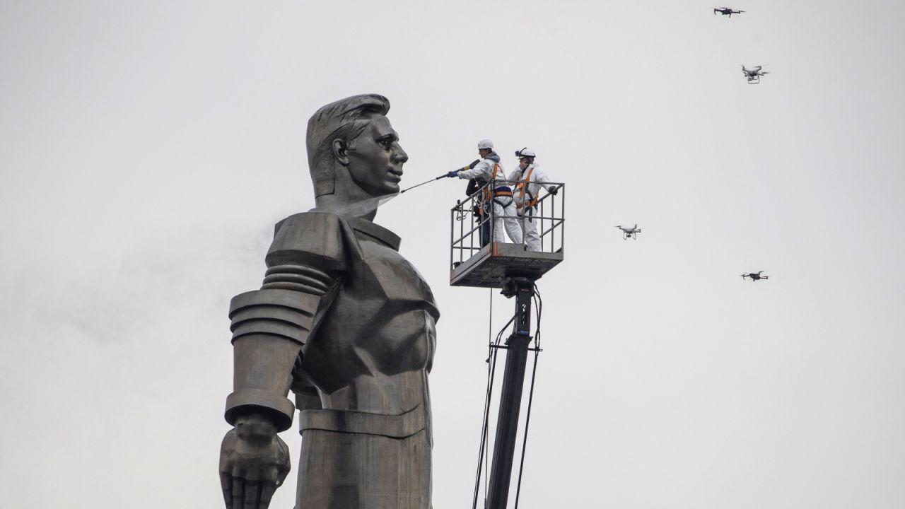 Nie wiadomo, ile ofiar pochłonął radziecki program kosmiczny (fot. PAP/EPA.)