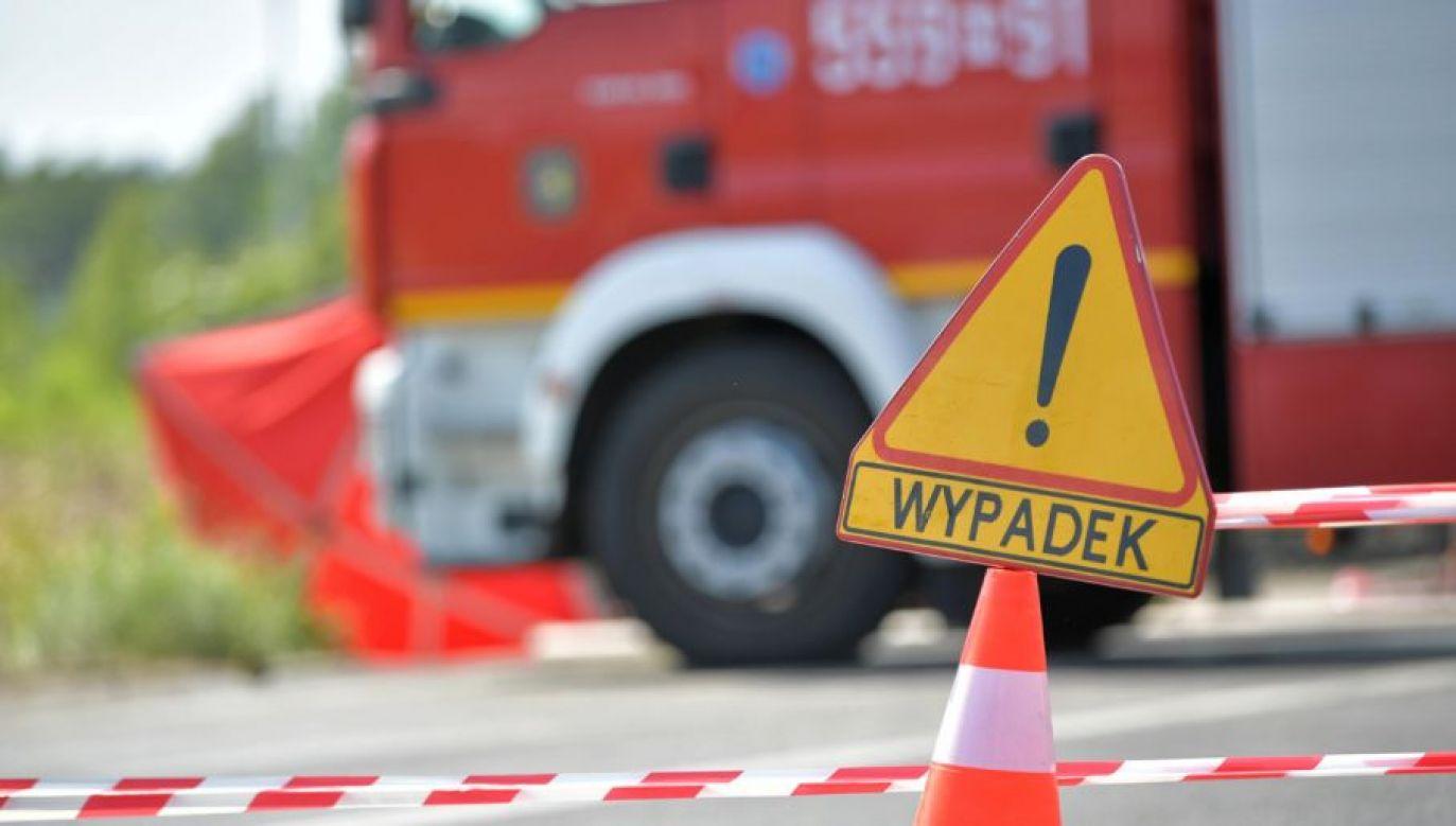 Przejazd na autostradzie jest już odblokowany (fot. arch. PAP/Przemysław Piątkowski)