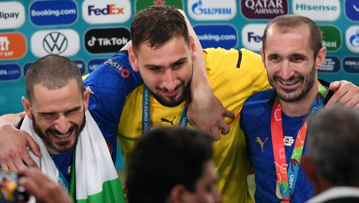 Gianluigi Donnarumma obronił w finale aż trzy rzuty karne (fot. Getty Images)