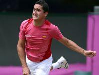 W ćwierćfinale Murray nie miał większych problemów z pokonaniem Hiszpana Nicolasa Almagro (fot. Getty Images)