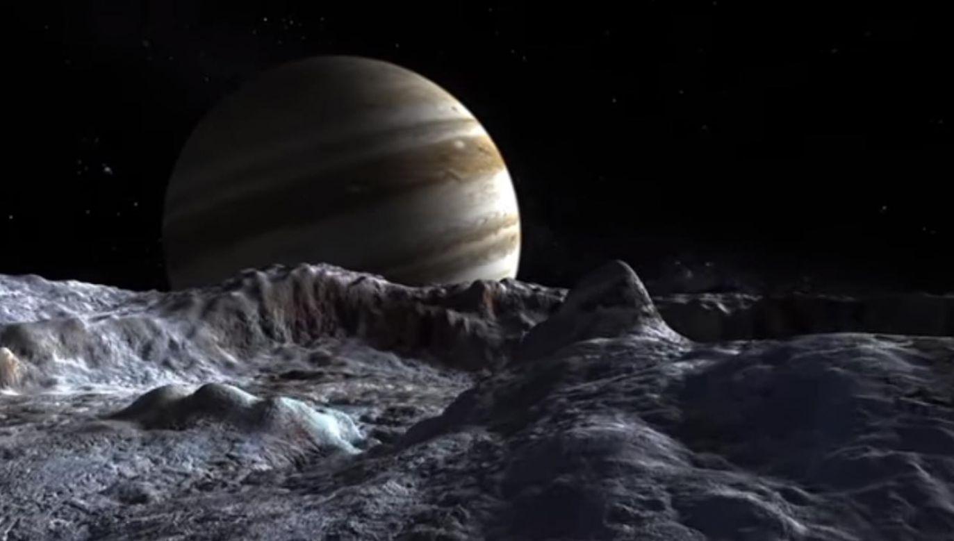 """Amerykańska agencja kosmiczna na pierwszy plan """"wysuwa"""" obiekty Układu Słonecznego (fot. YouTube/ NASA Goddard)"""