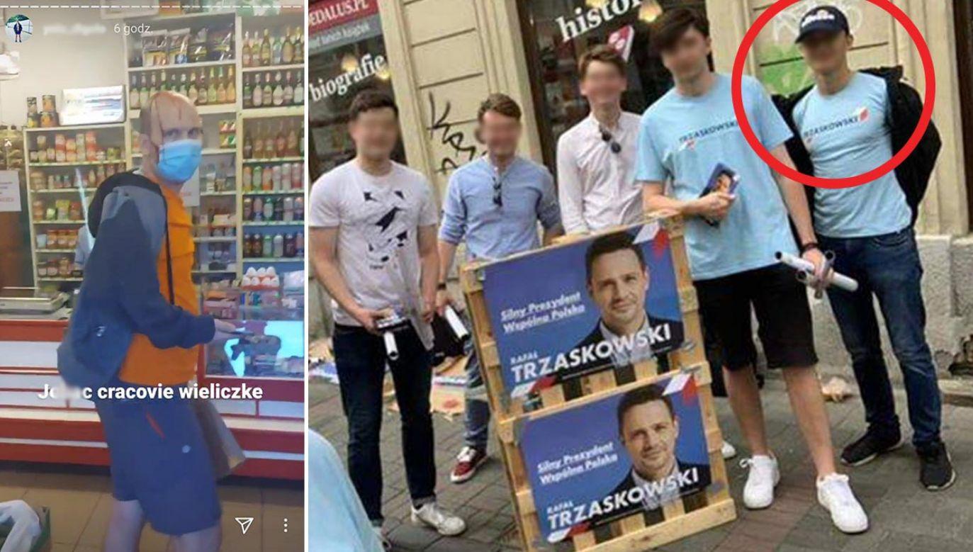 W Wieliczce doszło do pobicia nauczyciela, który stanął w obronie czarnoskórego mężczyzny (fot. Instagram, Facebook)