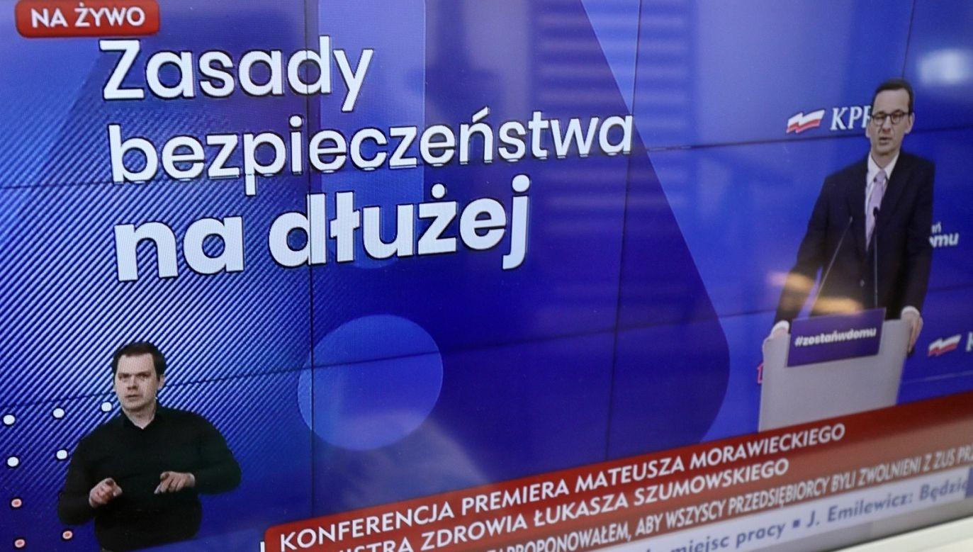 Przedłożono też obowiązujące ograniczenia (fot. PAP/Paweł Supernak)