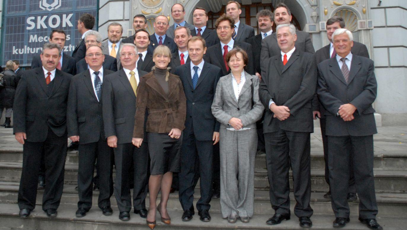 – Jeśli PiS-owi uda się podporządkować sądy, to będzie to atak na każdego Polaka – mówi Tusk (fot. PAP/Stefan Kraszewski)