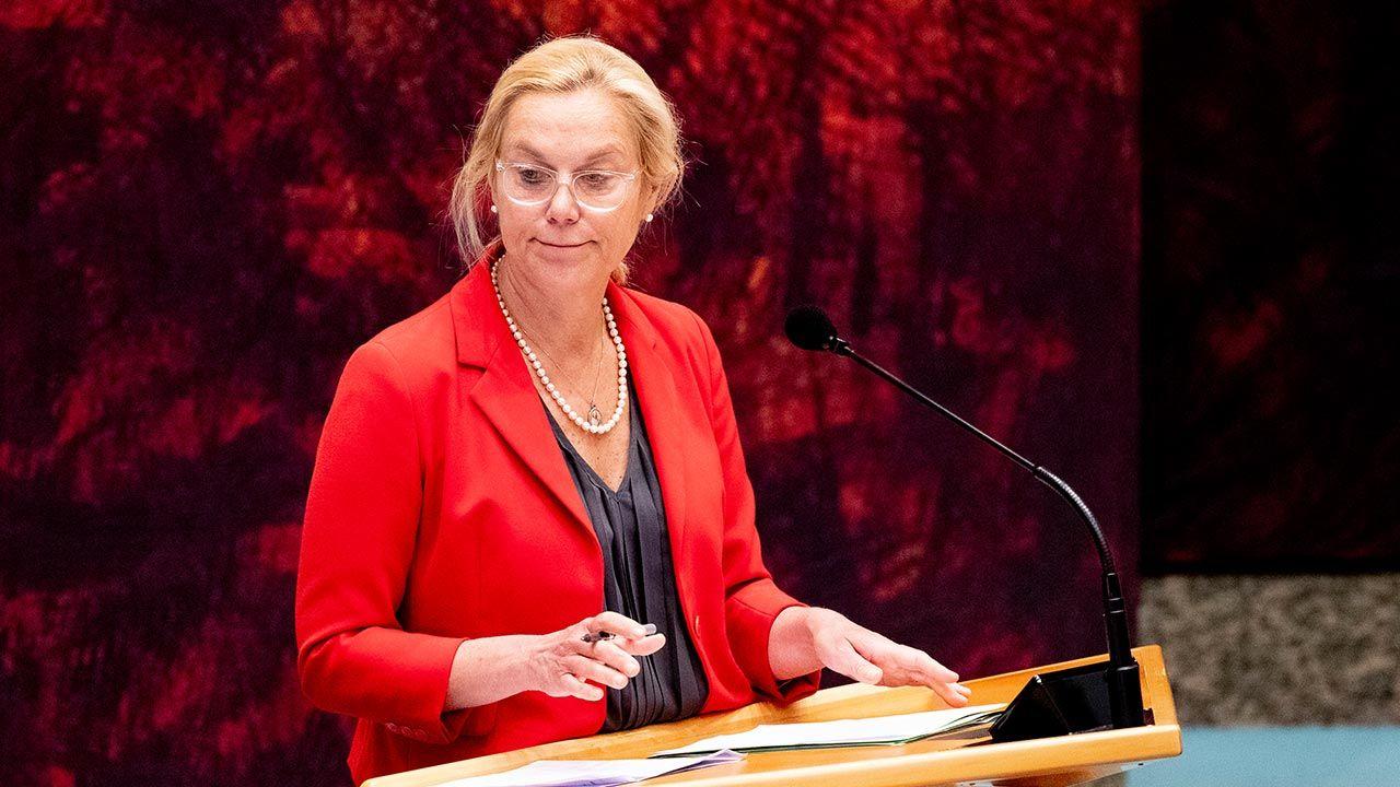 Sigrid Kaag (fot. Niels Wenstedt/BSR Agency/Getty Images)