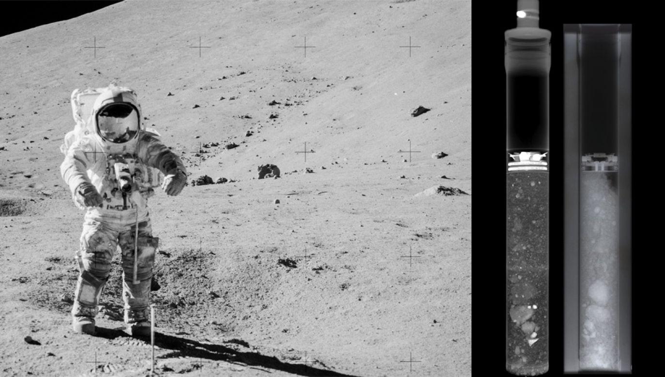 Próbki pobrano z Krateru Lara (fot. NASA)