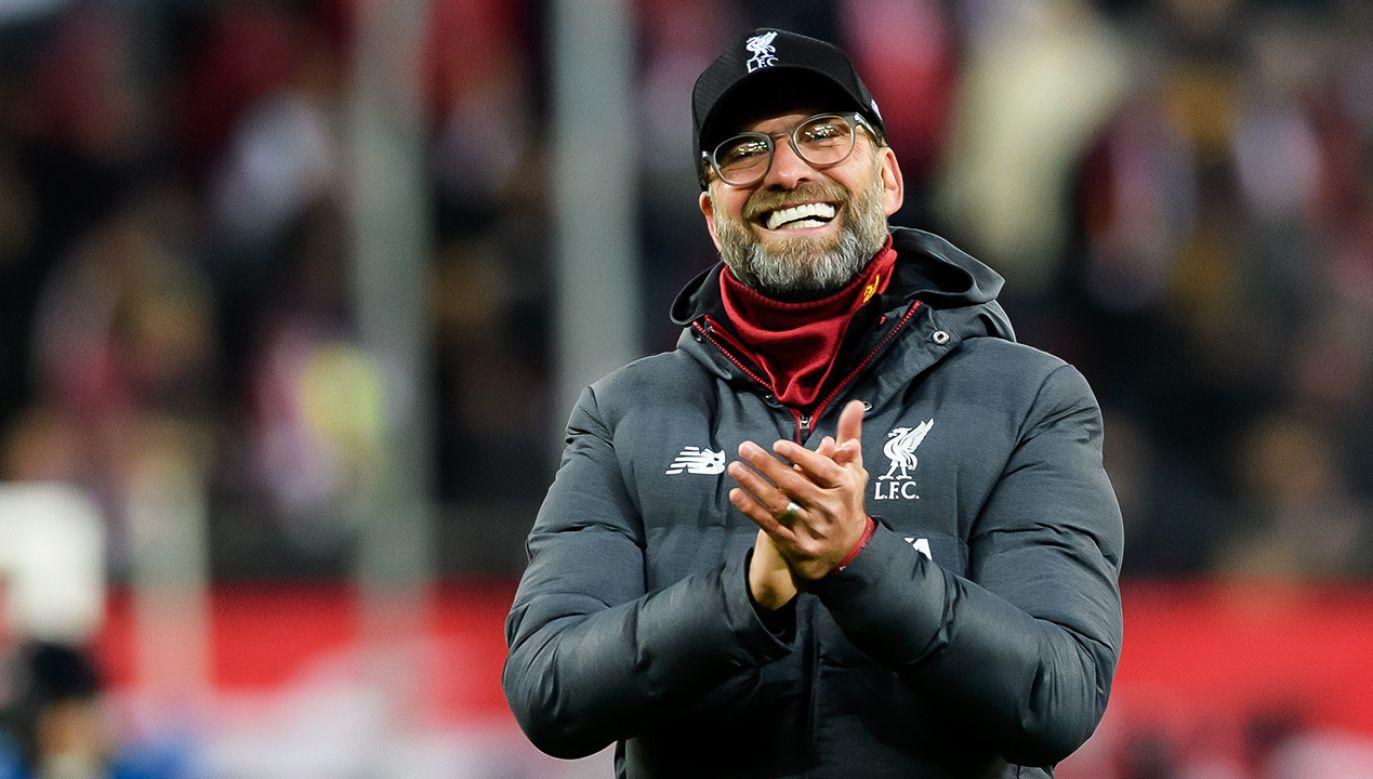 Jurgen Klopp przedłużył kontrakt z Liverpoolem do 2024 roku (fot. TF-Images/Getty Images)