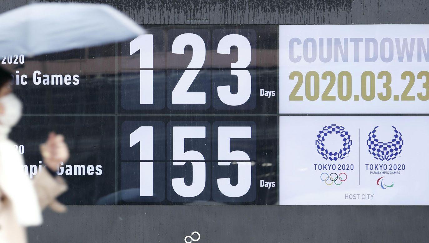 Sternik światowej lekkoatletyki zwrócił się do przewodniczącego MKOl Thomasa Bacha o przełożenie igrzysk (fot. Kyodo News via Getty Images)