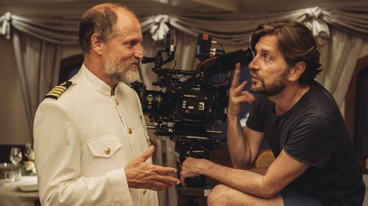 Woody Harrelson na planie filmu zdobywcy Złotej Palmy