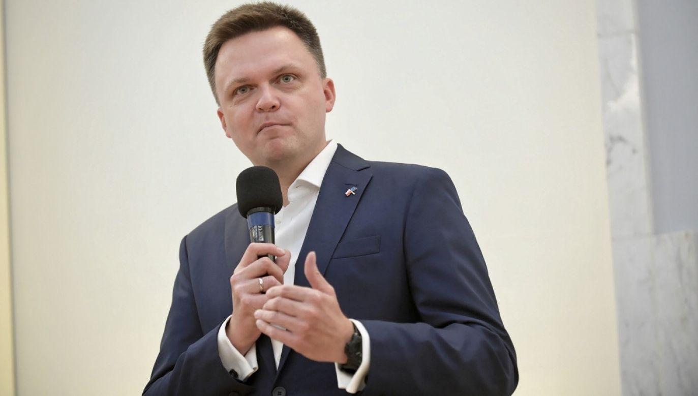Były prezenter TVN zapowiada trasę po Polsce (fot. PAP/Marcin Obara)