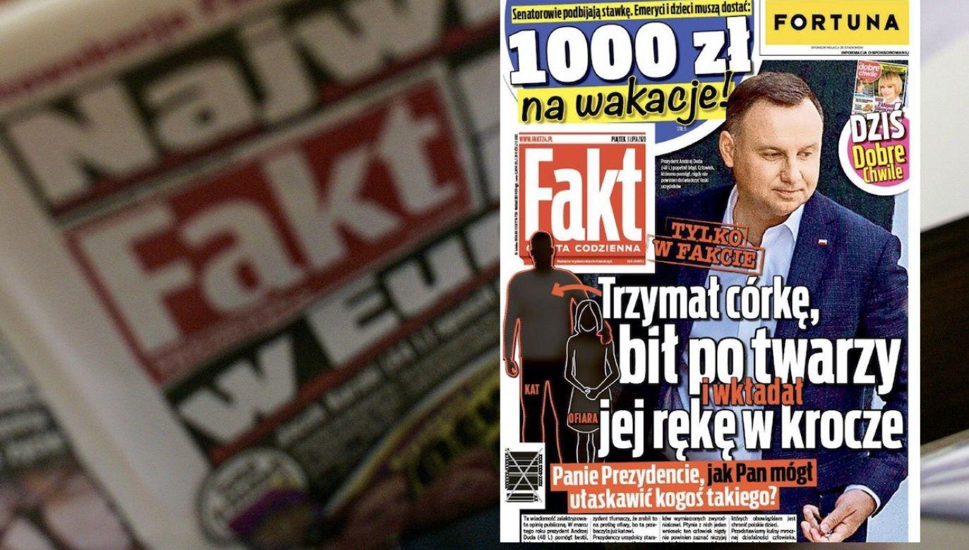 Okładkę dyrektor PR RDC nazwał skandaliczną (fot. arch.PAP/Adam Warżawa, Fakt)