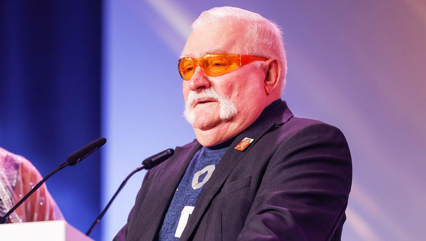Lech Wałęsa (fot. Gerald Matzka/WireImage/Getty Images)