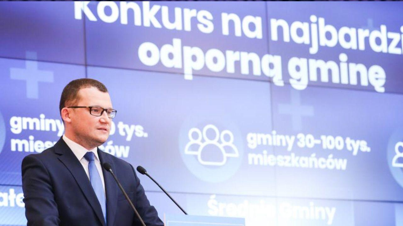 Wiceszef MSWiA Paweł Szefernaker (fot. TT/Kancelaria Premiera)