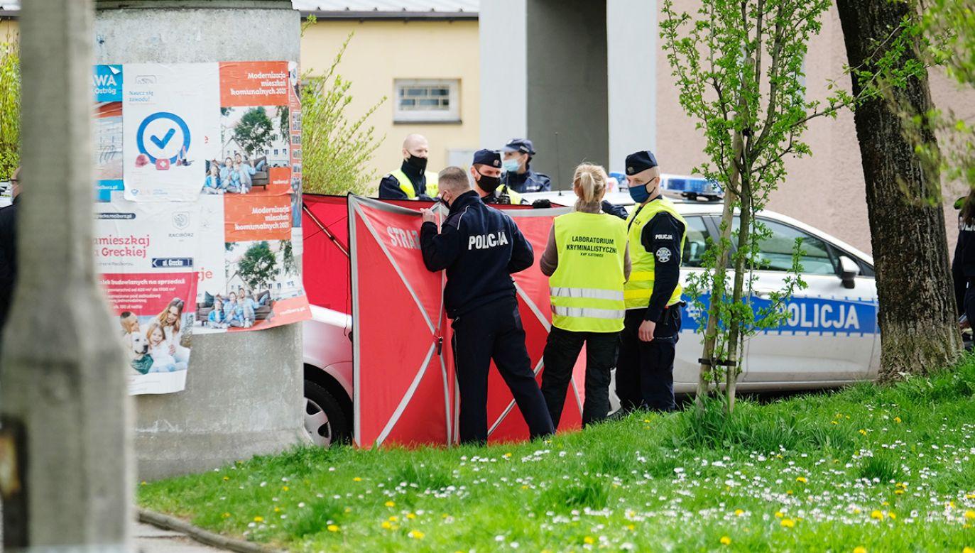 40-latek, który zastrzelił policjanta z Raciborza, został aresztowany (fot. PAP/Andrzej Grygiel)