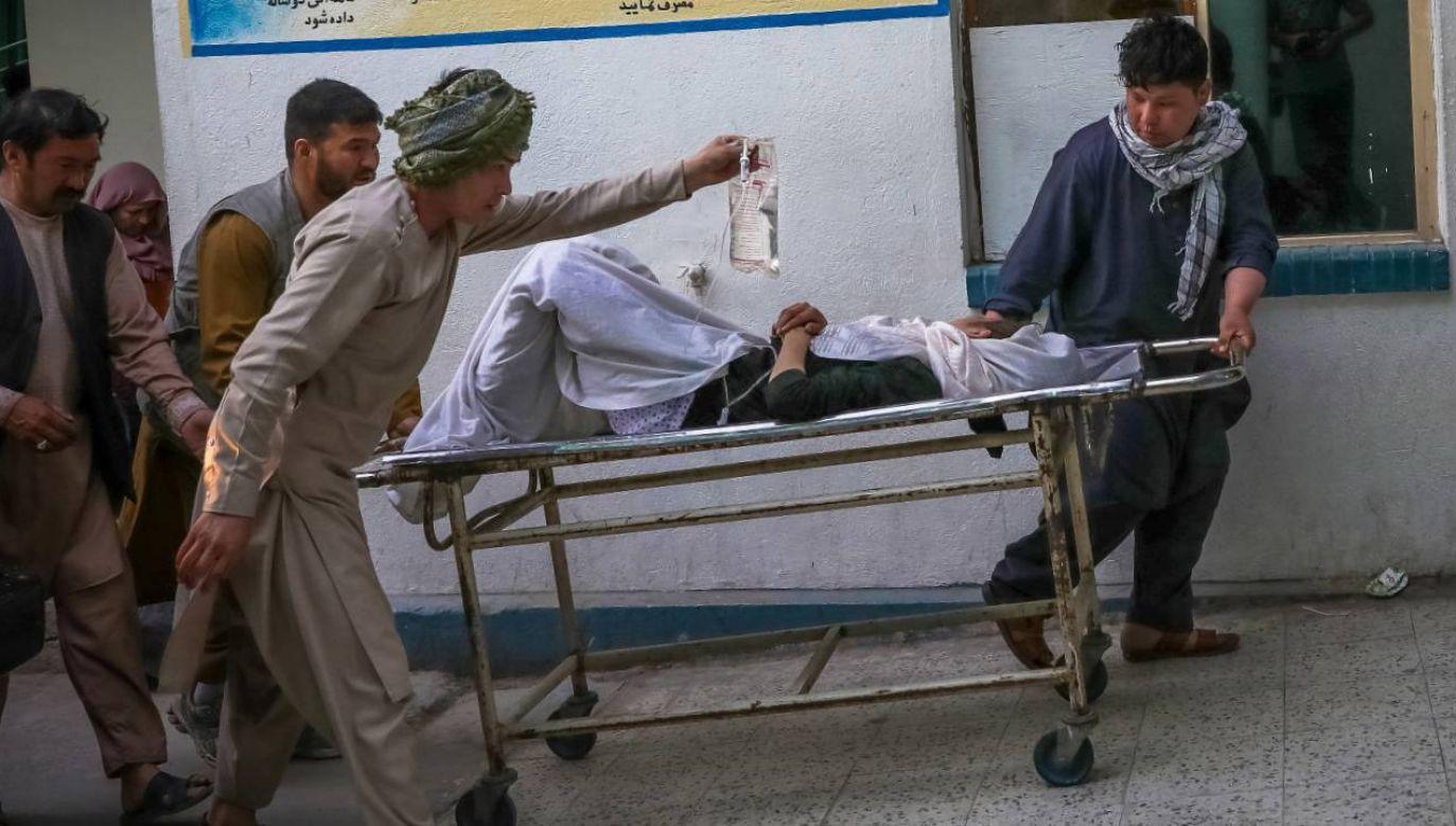 Nikt nie przyznał się do zamachu (fot. PAP/EPA/HEDAYATULLAH AMID)