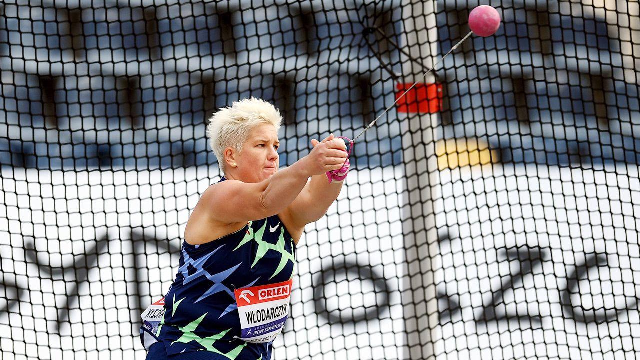 Daniel Obajtek podkreślił, że sportowcy mogą czuć się bezpieczni. Na zdjęciu Anita Włodarczyk (fot. PAP/Tytus Żmijewski)