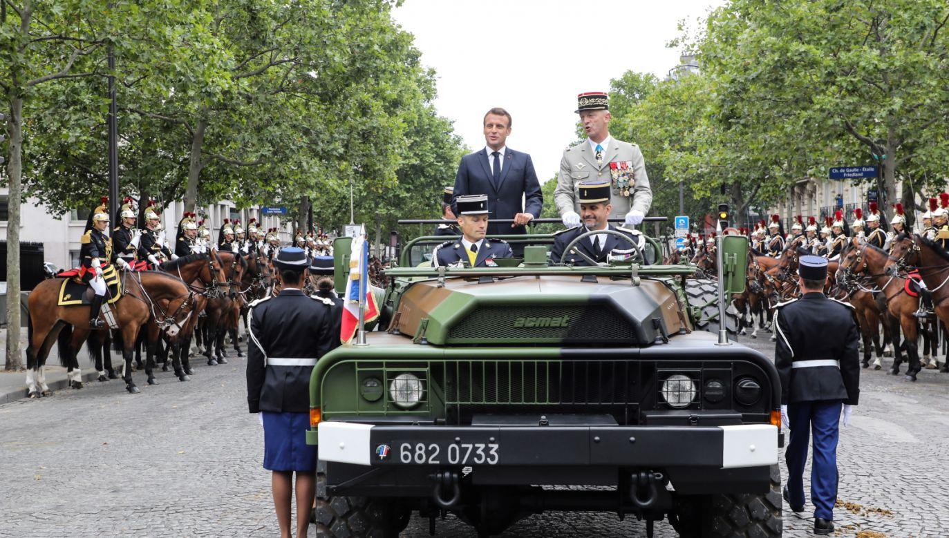 Paryż wyda miliony euro na obchody święta niepodległości (fot. PAP/EPA/LUDOVIC MARIN / POOL)