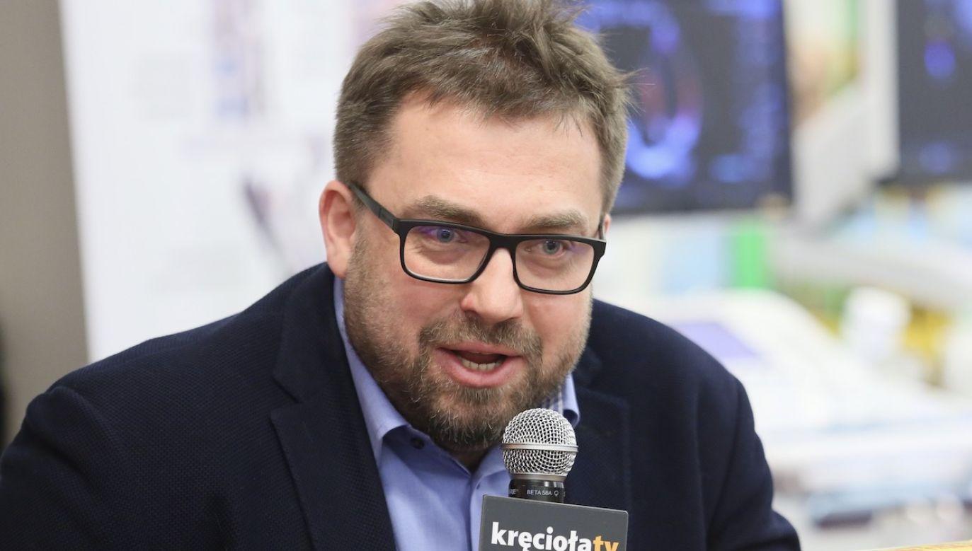 Dziennikarz Bartosz Węglarczyk (fot. arch.PAP/Leszek Szymański)