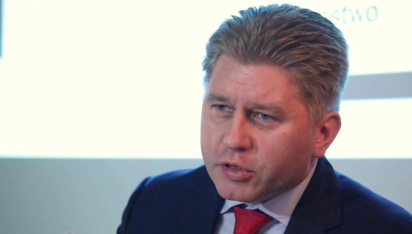 Prof. Marcin Matczak, prawnik z UW (fot. PAP/Tomasz Gzell)