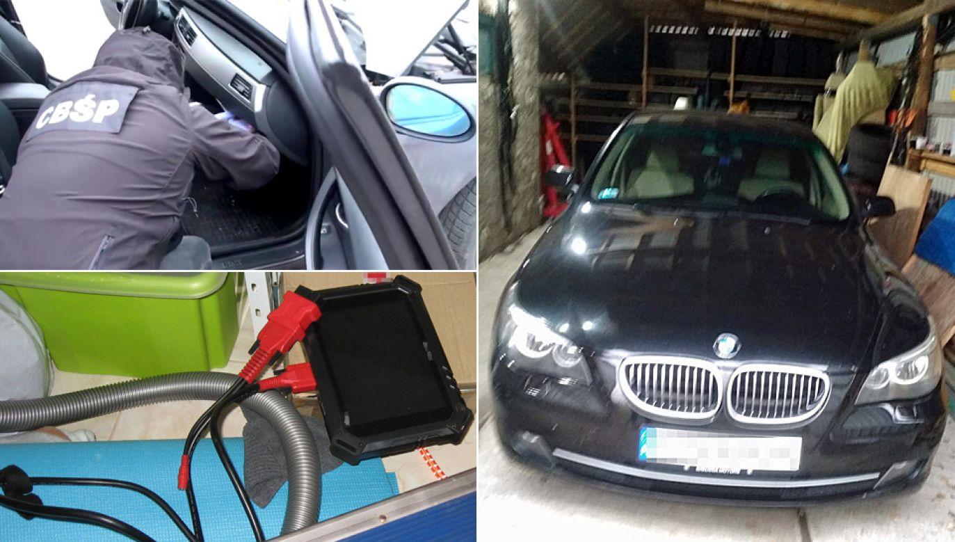 Do kradzieży złodzieje wykorzystywali specjalistyczny sprzęt (fot. CBŚP)
