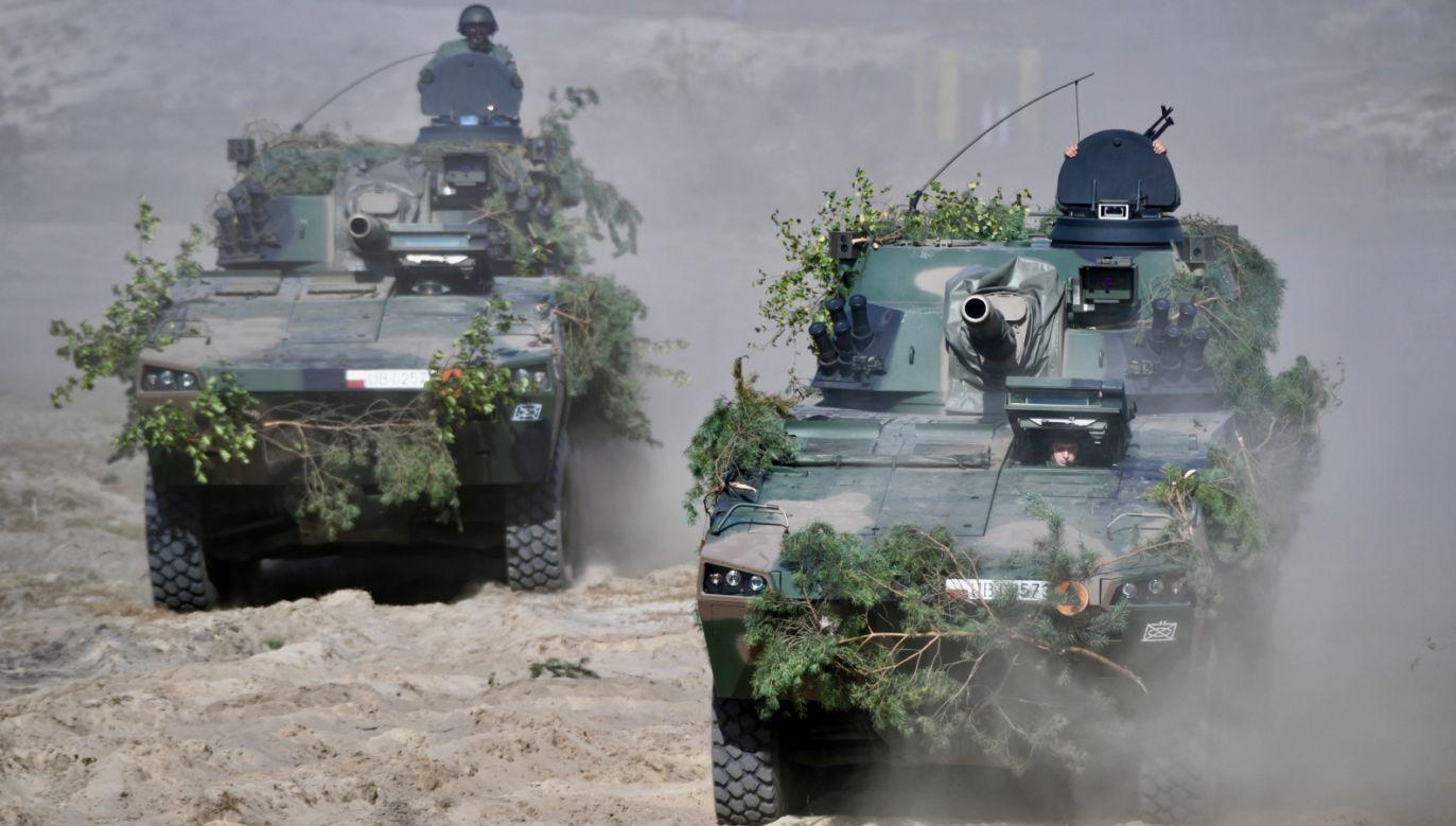 Szkolenie pododdziałów 18. Dywizji Zmechanizowanej Wojska Polskiego w Nowej Dębie (fot. PAP/Darek Delmanowicz)