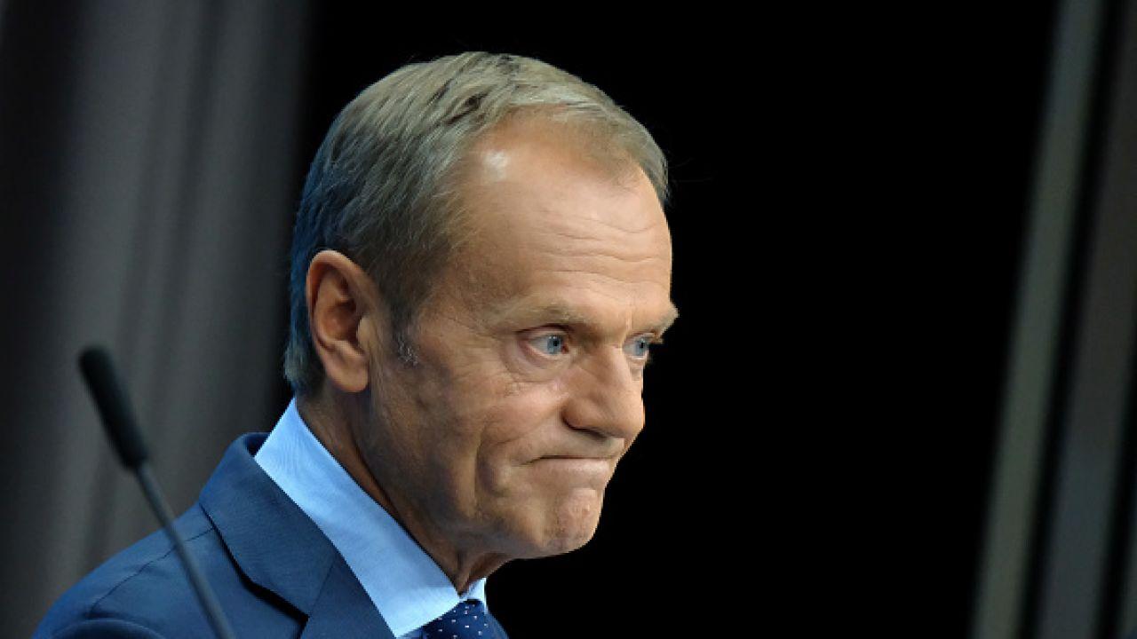 Przewodniczący PO Donald Tusk (fot. Sean Gallup/Getty Images)