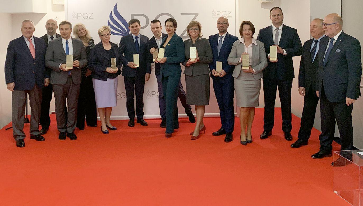 W siedzibie Krajowej Izby Gospodarczej odbyło się uroczyste ogłoszenie laureatów i wręczenie nagród w IX edycji konkursu (fot. Materiały prasowe)