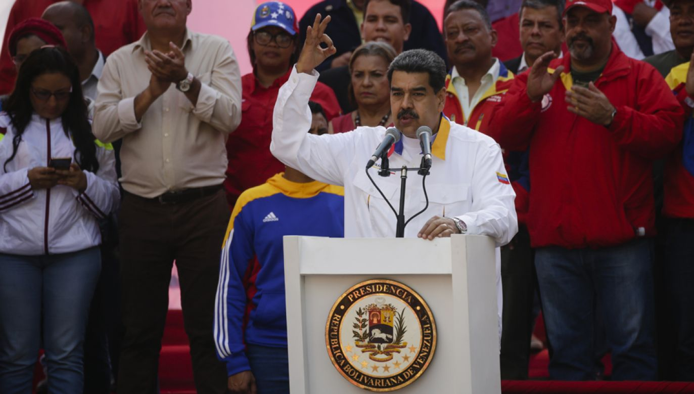 Nicholas Maduro miał być celem udaremnionego zamachu (fot. Eva Marie Uzcategui/Getty Images)