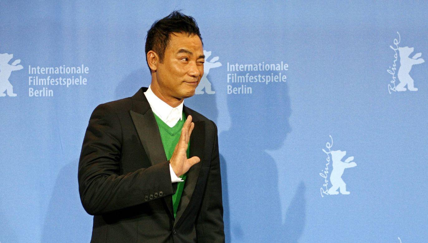 Simon Yan należy do najbardziej znanych aktorów azjatyckiego kina (fot. arch. PAP/DPA/Jan Woitas)