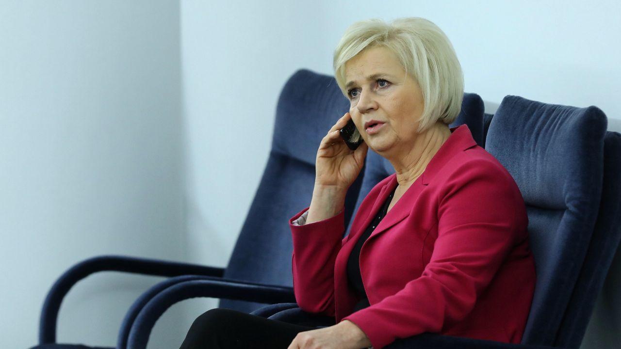 Senator niezależna Lidia Staroń. Czy zostanie Rzecznikiem Praw Obywatelskich? (fot. PAP/Rafał Guz)
