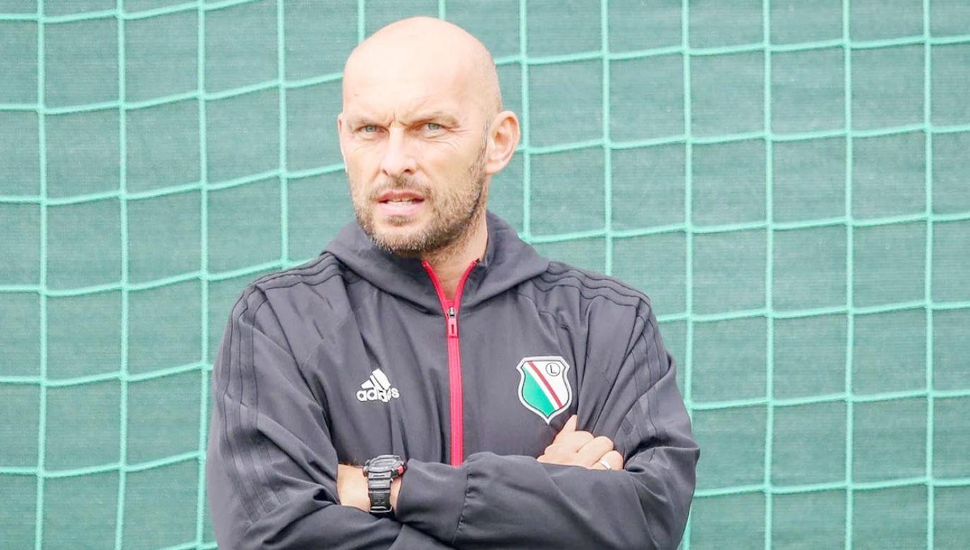 Marek Gołębiewski nowym trenerem warszawskiej Legii (fot. legia.net)