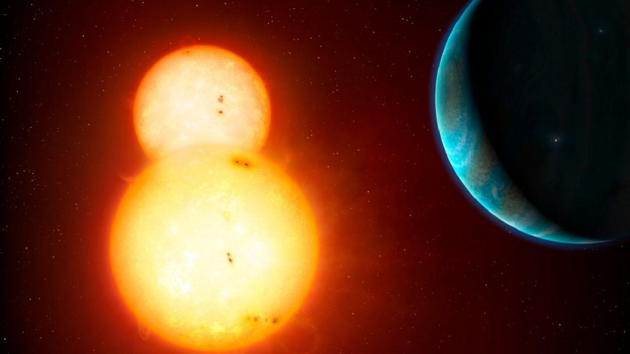 Układy wielokrotne nie należą do rzadkości we Wszechświecie (graf. NASA)