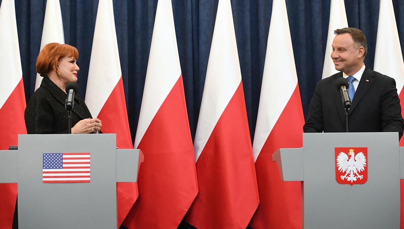 Andrzej Duda wygrał z Rafałem Trzaskowski w drugiej turze wyborów prezydenckich (fot.  PAP/Radek Pietruszka)