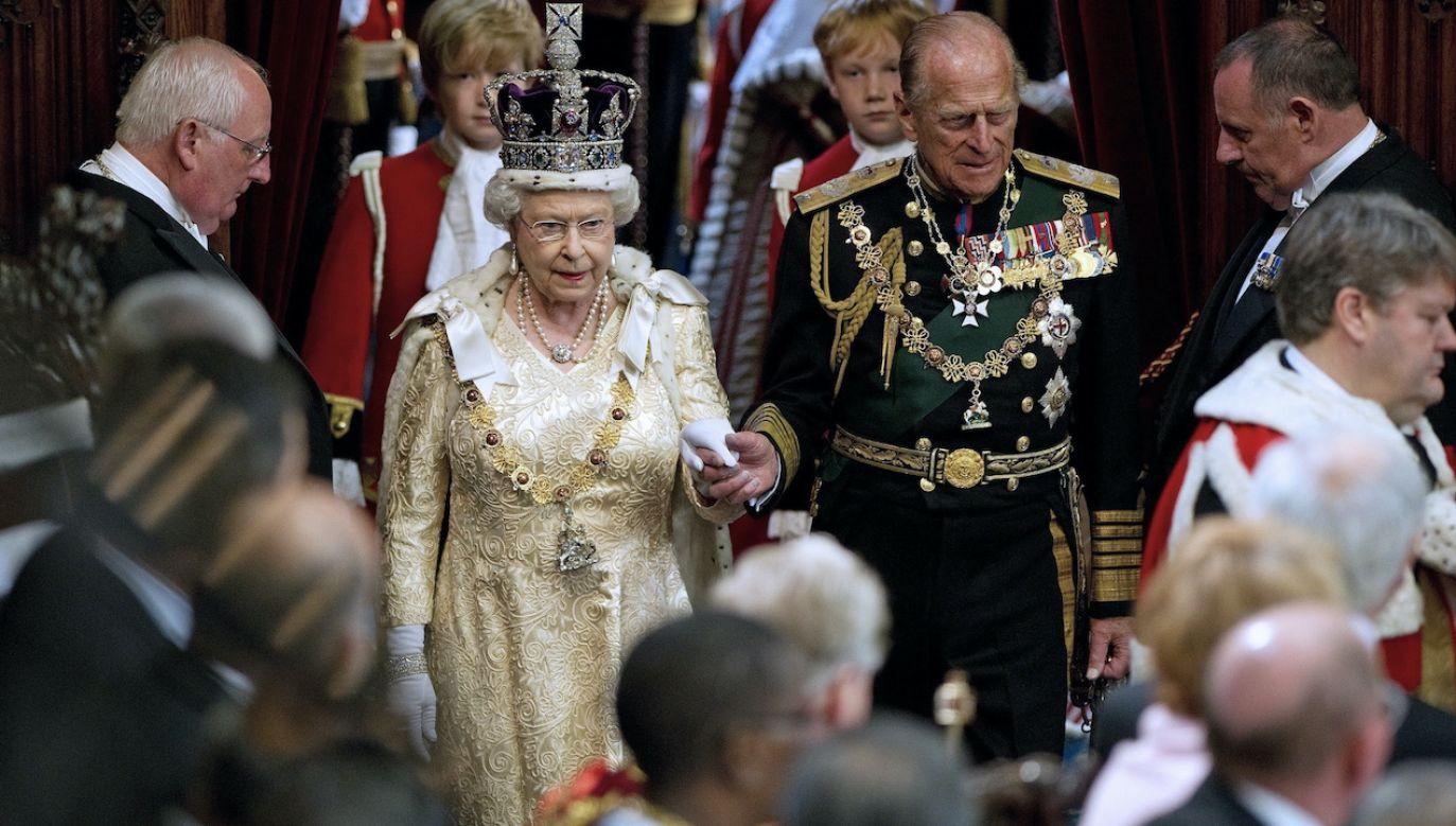 Książę Filip zmarł w piątek w wieku 99 lat (fot. PAP/EPA/STRINGER)